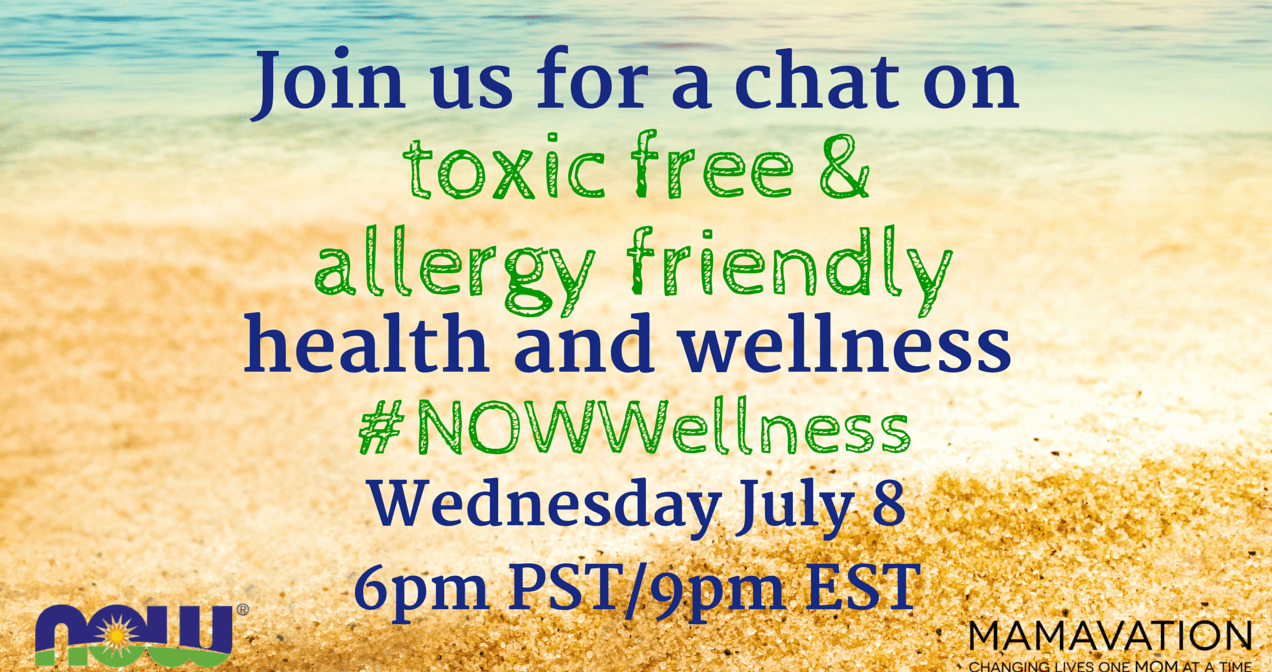 Join Us for the #NOWWellness Twitter Party on July 8