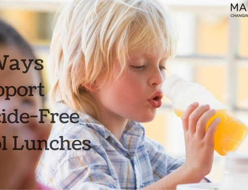 3 Ways to Support Pesticide-Free School Lunches