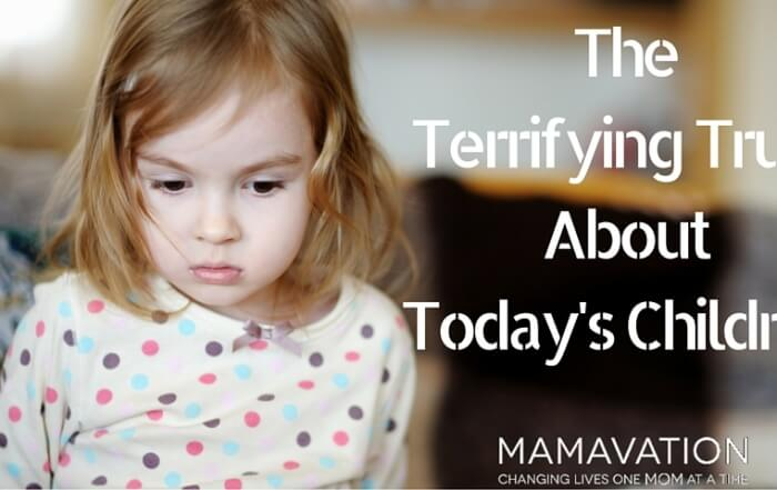 The Terrifying Truth About Today's Children