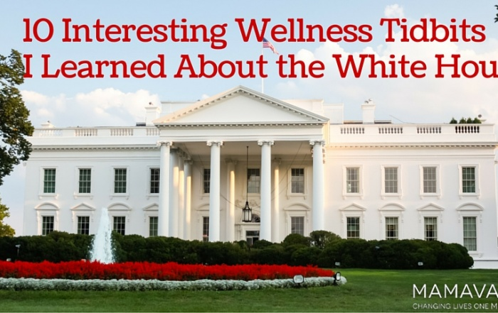 10 Interesting Wellness Tidbits I Learned About the White House