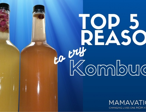 Top 5 Reasons To Try Kombucha