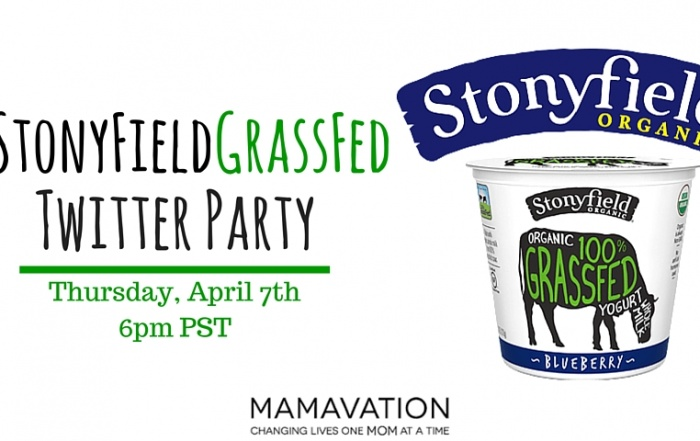 Stonyfield #GrassFed Twitter Party2