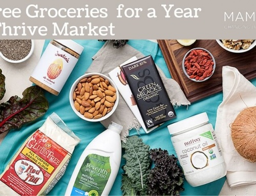 Win Free Groceries for a Year from Thrive